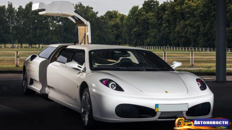 Полиция Италии конфисковала поддельный лимузин Ferrari F430 - «Автоновости»