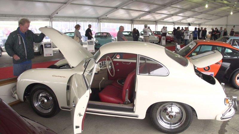 Porsche Rennsport Australia 2016: Porschestrasse  - «видео»