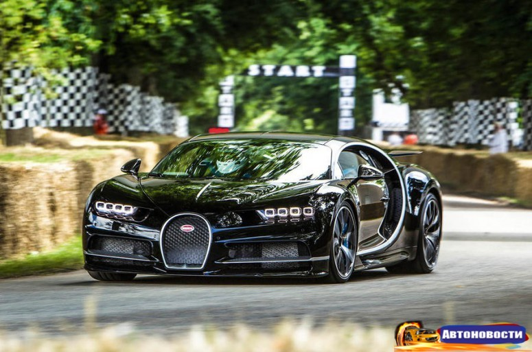 Bugatti Chiron нацелился на новый мировой рекорд скорости - «Bugatti»