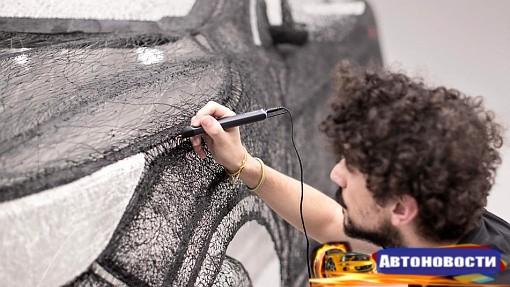 Копию Nissan Qashqai напечатали с помощью 3D-ручки - «Автоновости»