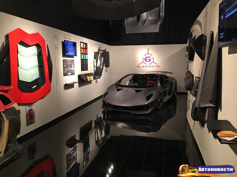 Lamborghini разрабатывает детали двигателя из углеволокна - «Lamborghini»