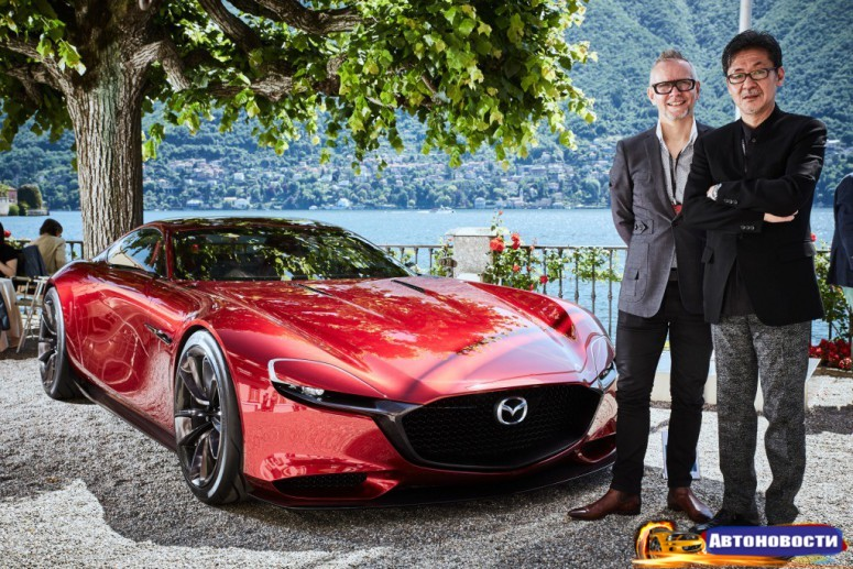 Mazda всерьез задумалась о выпуске суперкара RX Vision - «Mazda»