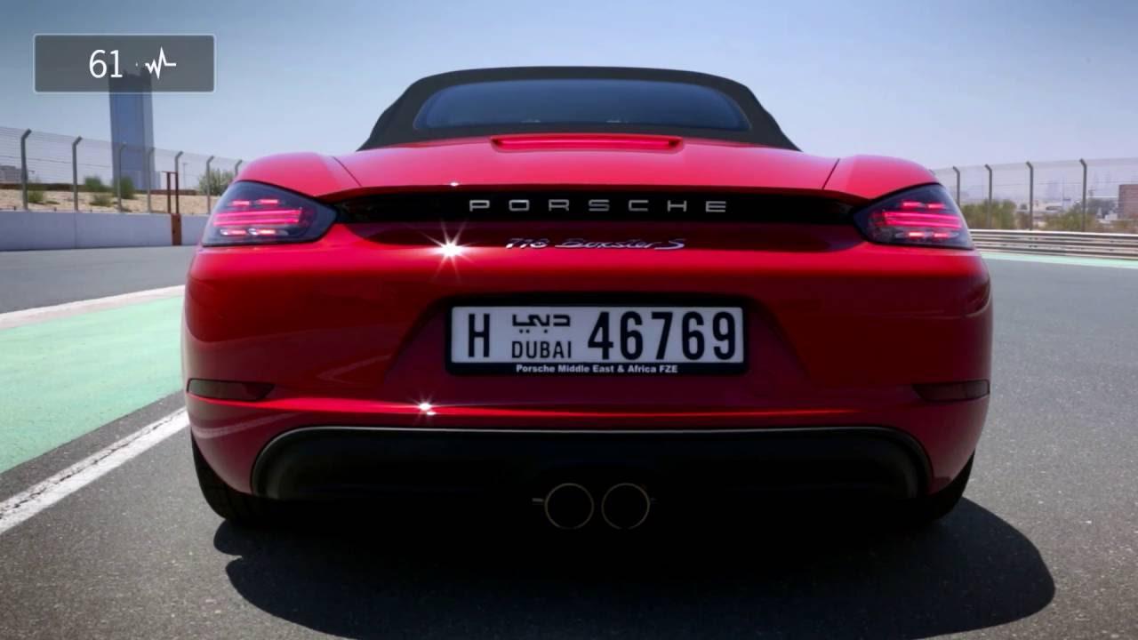 Measuring driving pleasure in a 718 Boxster S.  - «видео»