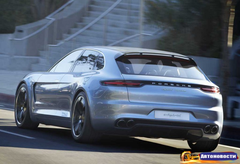 Panamera нового поколения появится и в версии универсал - «Porsche»