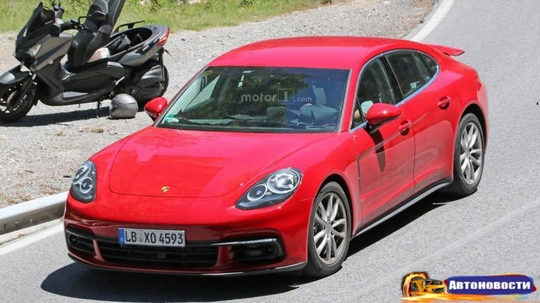 Porsche Panamera второго поколения уже замечена без камуфляжа - «Porsche»