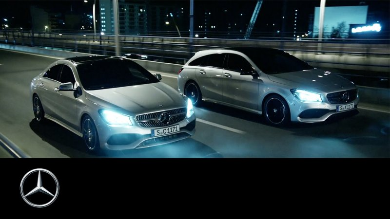 Rock. Star. The new CLA and CLA Shooting Brake – Mercedes-Benz Original.  - «видео»