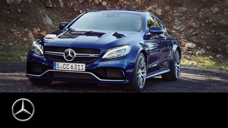 The Mercedes-AMG C 63 S Coupe - Mercedes-Benz original  - «видео»