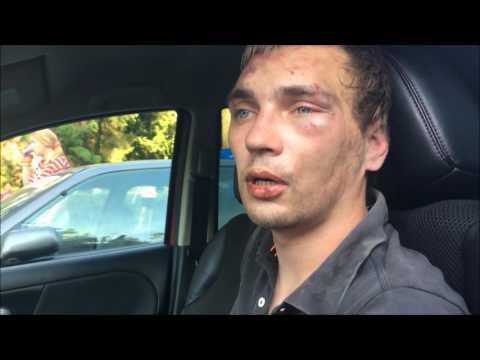 В Одессе водители задержали автоугонщика.  - «Стоп Хам видео»
