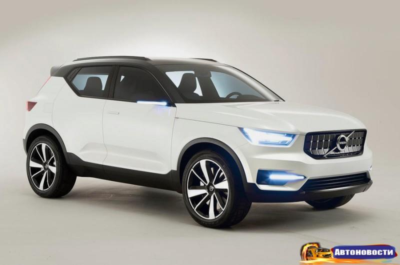 Volvo XC40 Concept 40.1: эксклюзивные изображения и подробности - «Volvo»