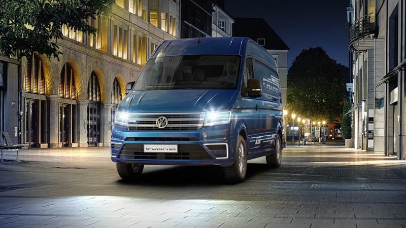 Электрическая версия фургона VW Crafter сможет проезжать от 200 до 400 км - «Автоновости»