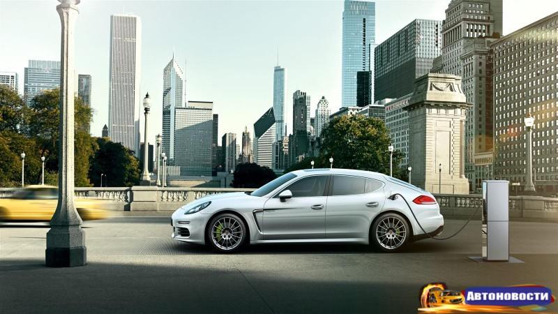 Гибридная Porsche Panamera должна сделать прорыв - «Porsche»