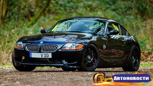 На eBay выставили на продажу BMW Z4 с мотором от Dodge Viper - «Автоновости»