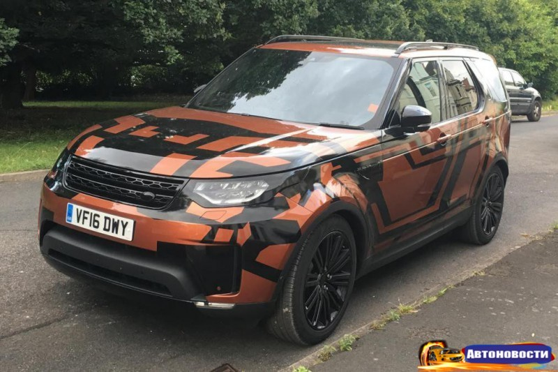 Новые фото 2017 Land Rover Discovery показали внедорожник без камуфляжа - «Land Rover»