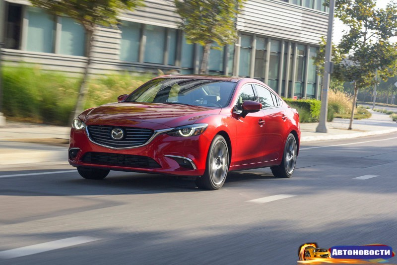Обновленная 2017 Mazda6 придет в Европу этой осенью - «Mazda»