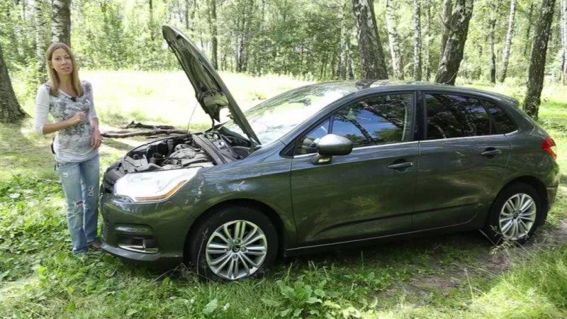 Подержанные автомобили. Citroen C4, 2012  - «видео»