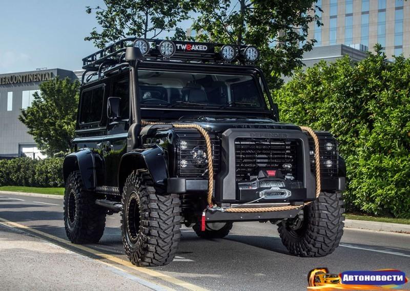 Тюнеры сделали Land Rover Defender, как в бондиане «007: Спектр» - «Land Rover»