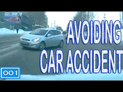 Avoiding Car Accident (Compilation -001-)  - «происшествия видео»