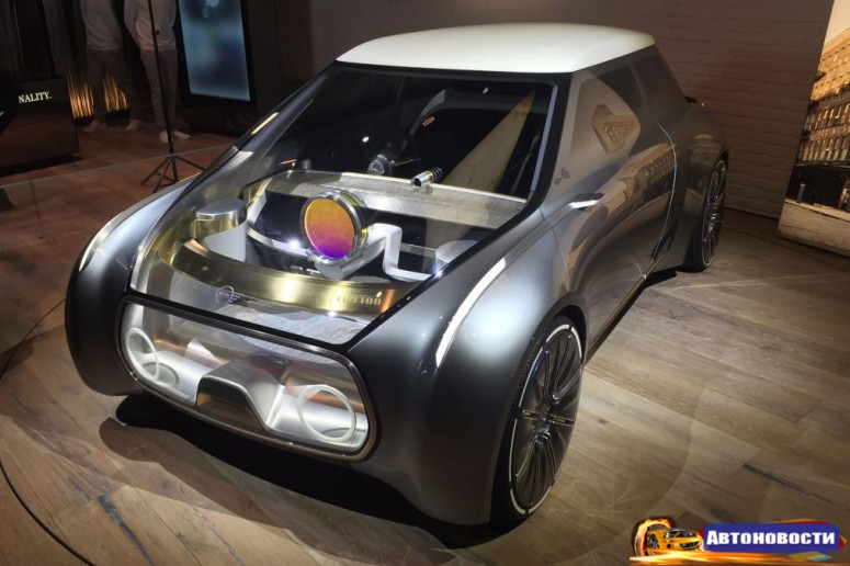 MINI Vision Next 100 заглядывает в далекое будущее [2 видео] - «MINI»