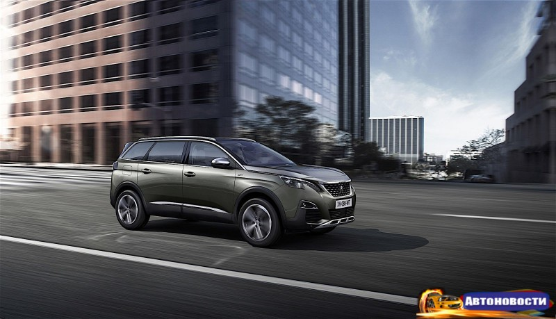 Peugeot показал абсолютно новый семиместный кроссовер 5008 - «Peugeot»