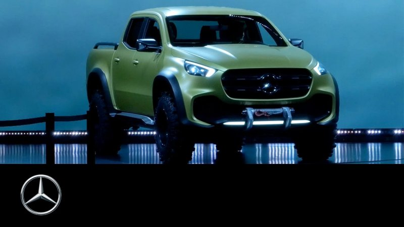 Concept X-CLASS: The Mercedes among pickups #MBPickup – Mercedes-Benz Original  - «видео»