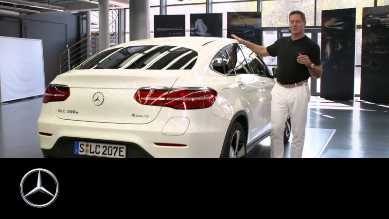 Gorden Wagener explains the GLC Coupe Design – Mercedes-Benz Original  - «видео»