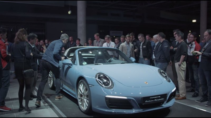 "Porsche Exclusive – the 911 Targa 4S Exclusive Design Edition: ""Everything starts with an idea.""  - «видео»"