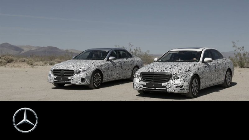 Prototype and Testing: E-Class Making of – Part 1 – Mercedes-Benz Original.  - «видео»