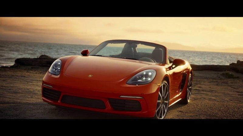 The Porsche 718 Circuit Playground in San Francisco  - «видео»