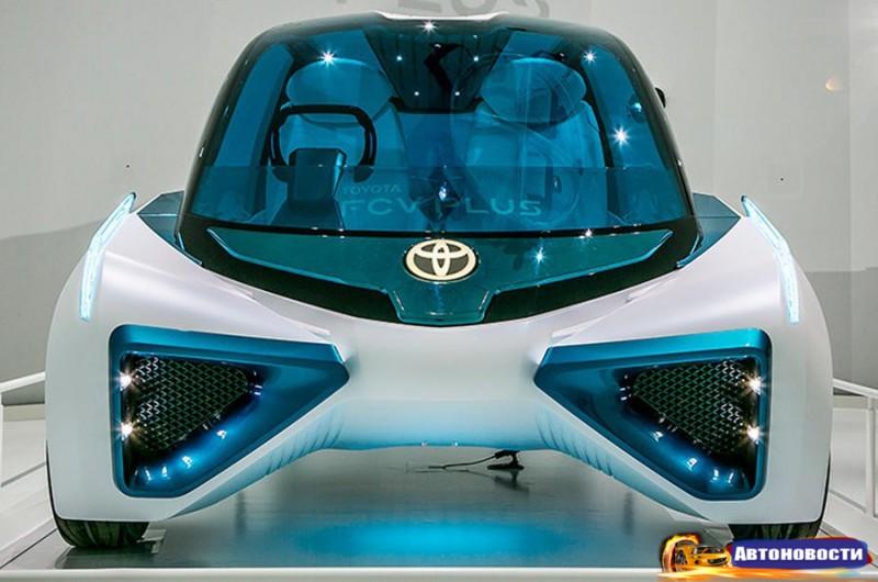 Toyota привезет на Парижский автосалон футуристический концепт FCV Plus - «Toyota»