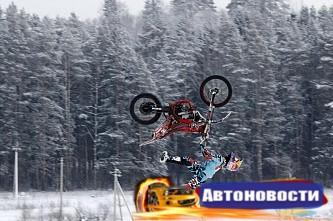 Алексей Колесников готовит новые трюки для Motul Extreme Show сезона 2017 года - «Автоспорт»