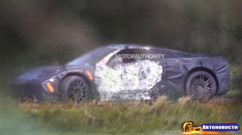 Chevrolet Corvette сменит пол - «Автоновости»
