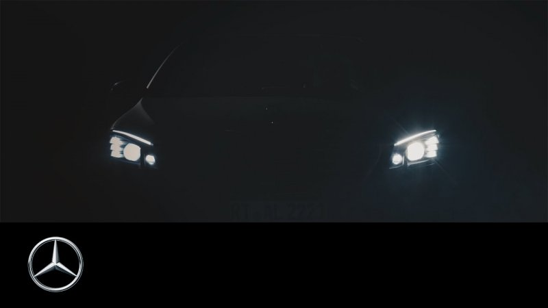 Mercedes-Benz DIGITAL LIGHT – A light for the future – Mercedes-Benz original  - «видео»