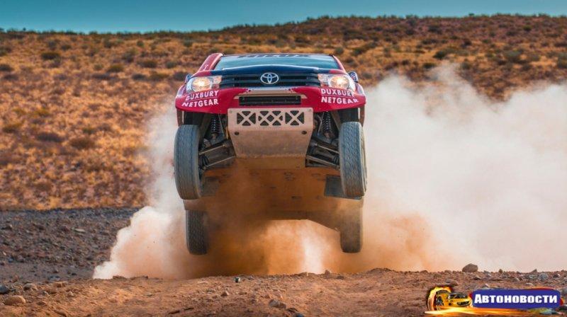 Toyota собирается в Дакар - «Автоновости»