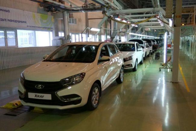 XRAY и еще три модели LADA встали на конвейер в Казахстане - «LADA»