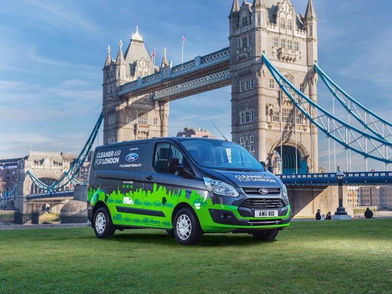 Ford выведет на улицы Лондона гибридные фургоны Transit - «Автоновости»