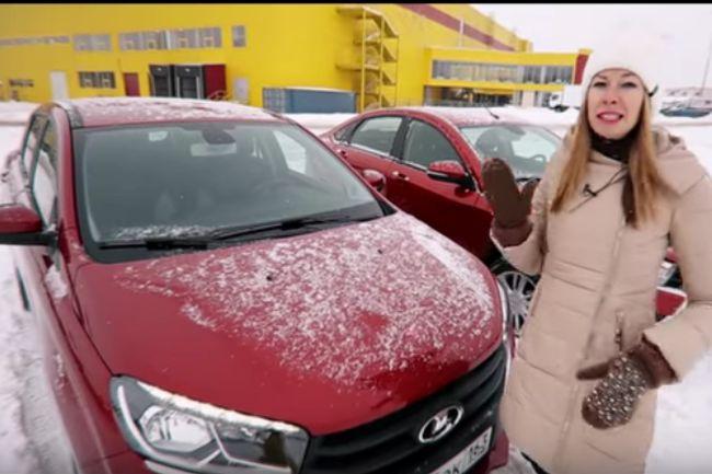 Нововведения в LADA XRAY и LADA Vesta в видеообзоре «Лиса Рулит» - «LADA»
