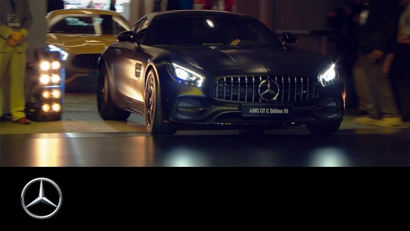 Mercedes-AMG at the Detroit Auto Show 2017 – Mercedes-Benz original  - «видео»
