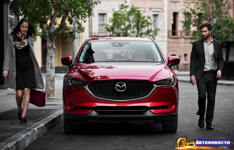 Второе поколение Mazda CX-5: «взрослый» дизайн, изменения в интерьере - «Mazda»