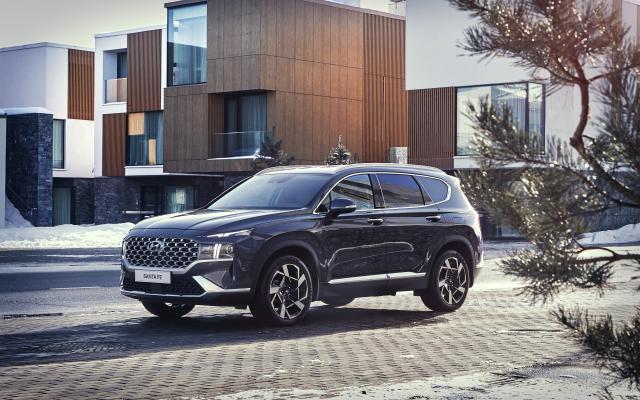 Hyundai представил обновленный кроссовер Santa Fe - TopGear Russia - «Автоновости»