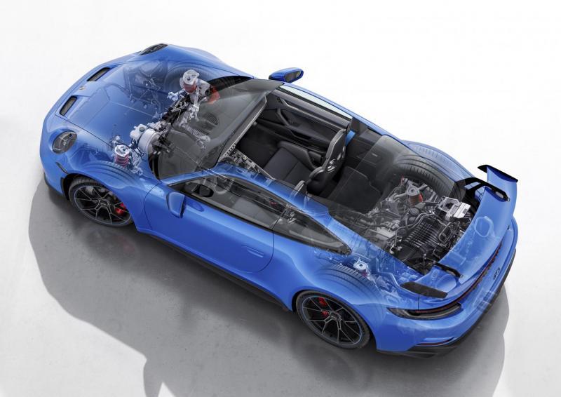 Пришло время познакомиться с подвеской нового Porsche 911 GT3 - TopGear Russia - «Автоновости»
